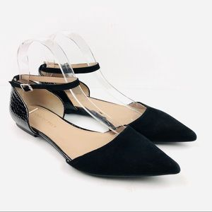Shoes of Prey D'Orsay Pointed Toe Ballet Flat